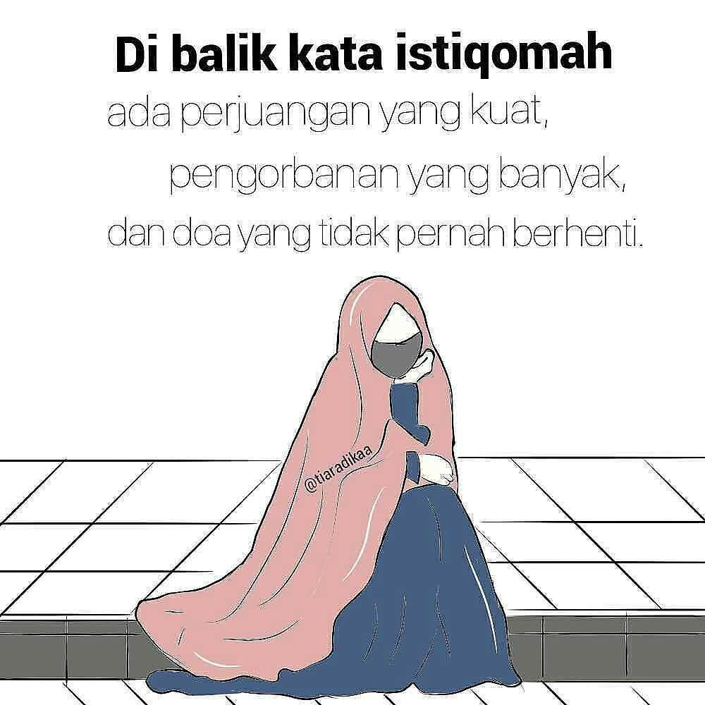 Gambar Kata Hijrah Dan Istiqomah Cikimmcom